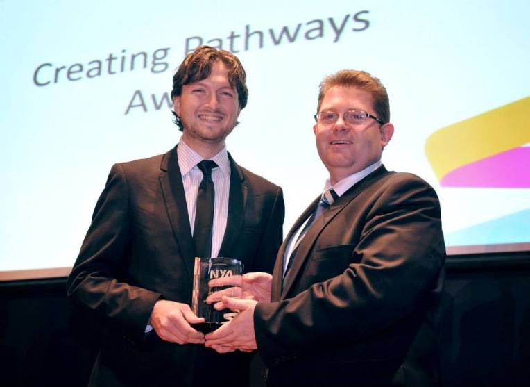 Winning the National Youth Award for 'Creating Pathways'