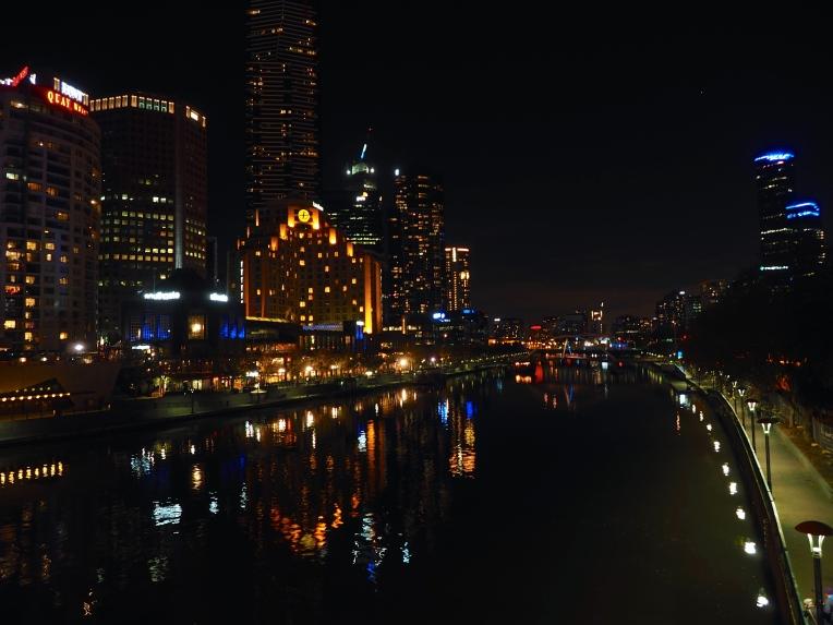 Yarra at night